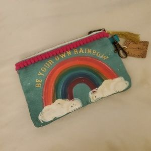 "Natural Life i.d./ coinpurse ""Be your own Rainbow"""